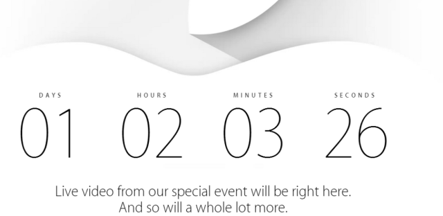 Apple event live streaming hangout
