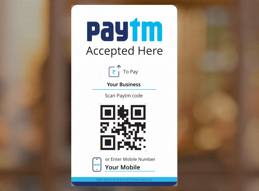 paytm accepted here