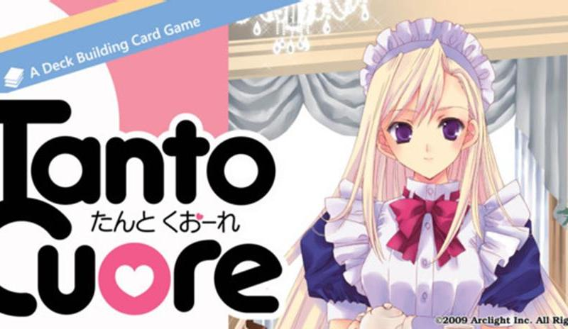 tanto cuore anime deck building card game for 2 to 4 players