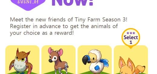 Tiny Farm Season 3 Mystery Forest Pre-Registration Event