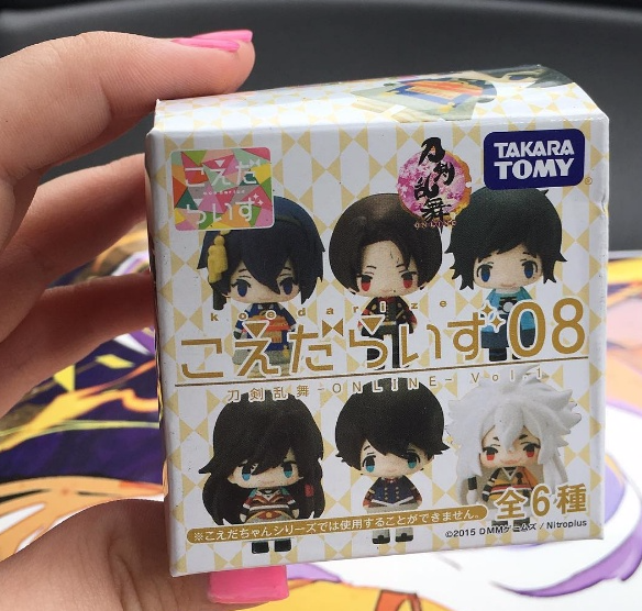 Touken Ranbu Blind Box Figurine Inside June Betoyo Bento Anime Monthly Subscription Crate