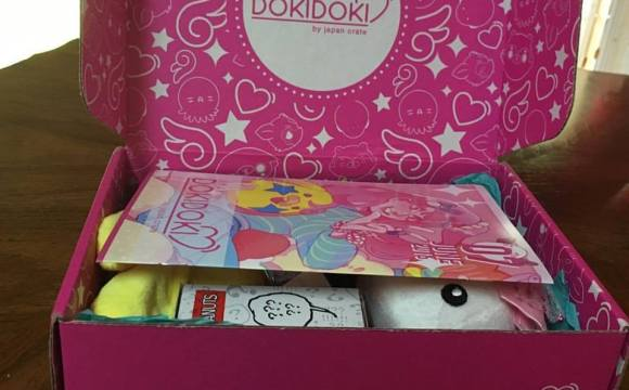 Doki Doki June Box Opening Subscription Crate Review