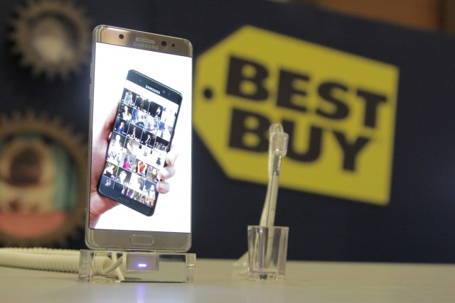Samsung Galaxy Note 7 Now Available at Best Buy