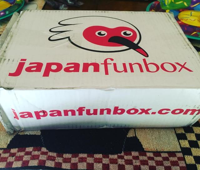 Japan Mini Funbox Unboxing Review Box Opening