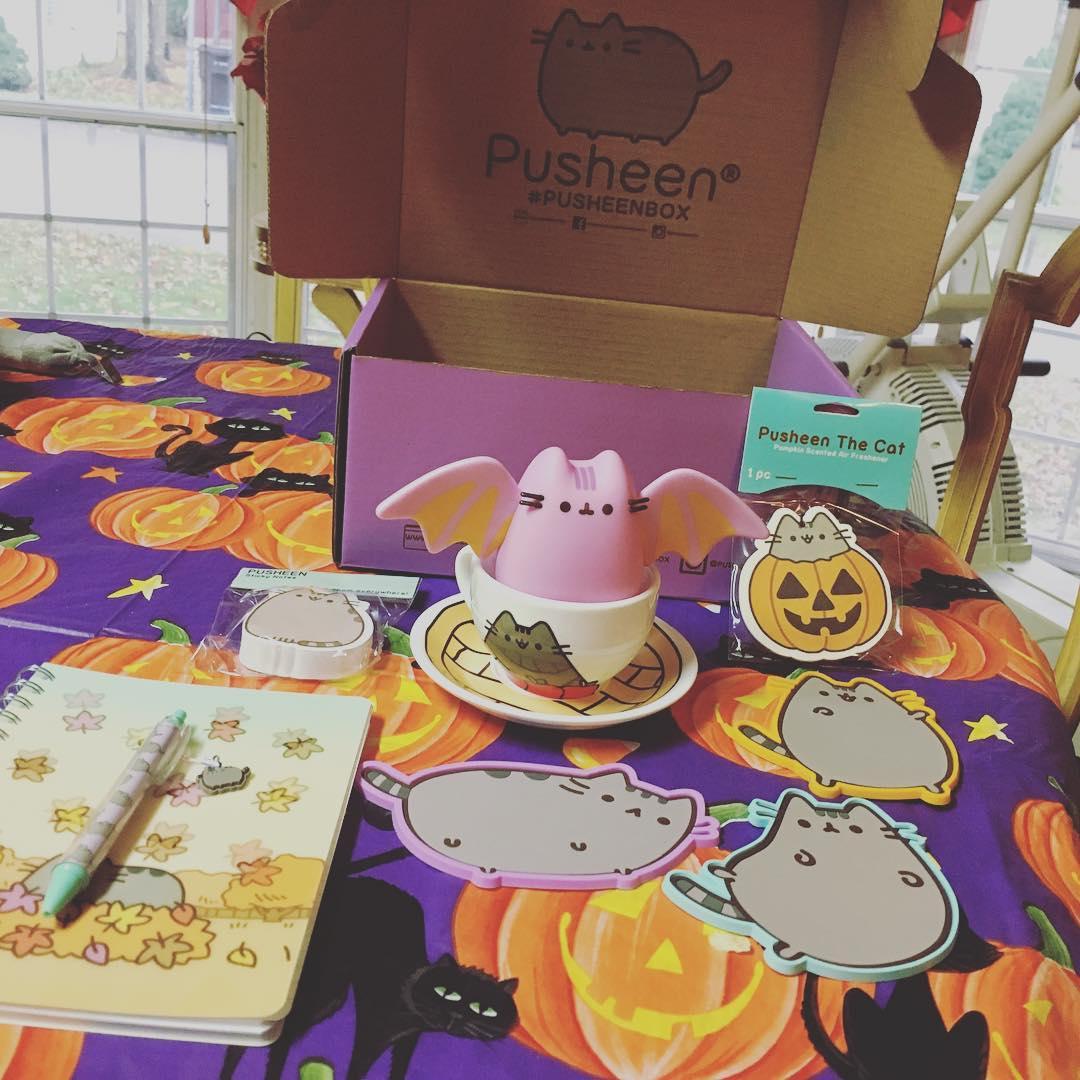 Pusheen Box Fall 2016 Halloween Box Opening
