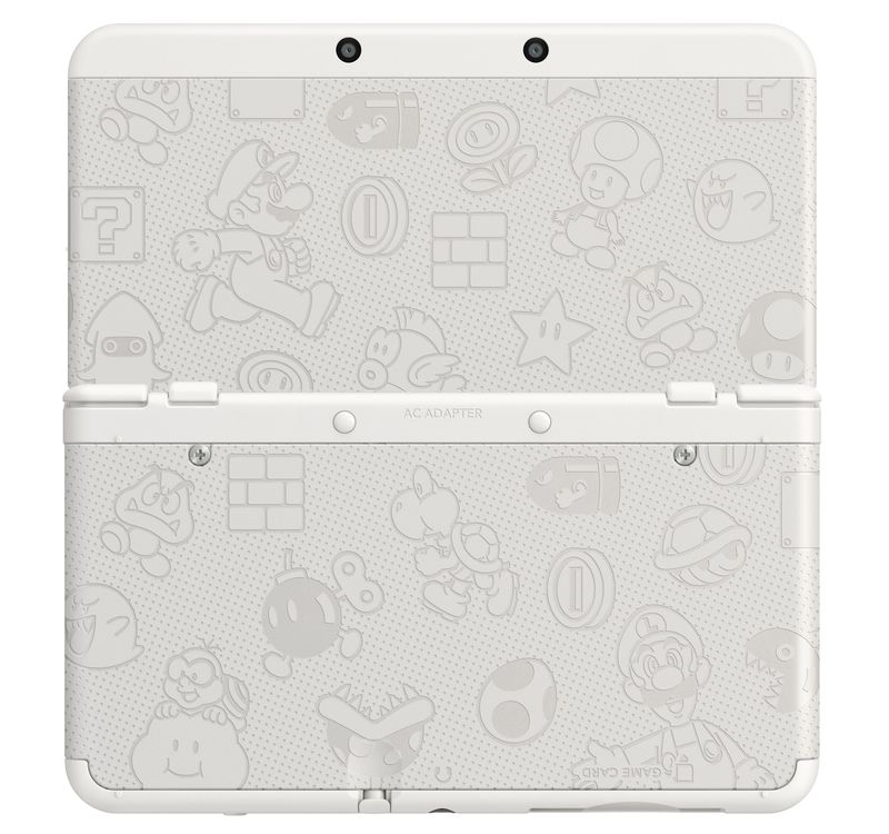 white limited edition Nintendo 3ds