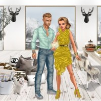 Lady Popular - Review of Fashion Runway Dressup Game