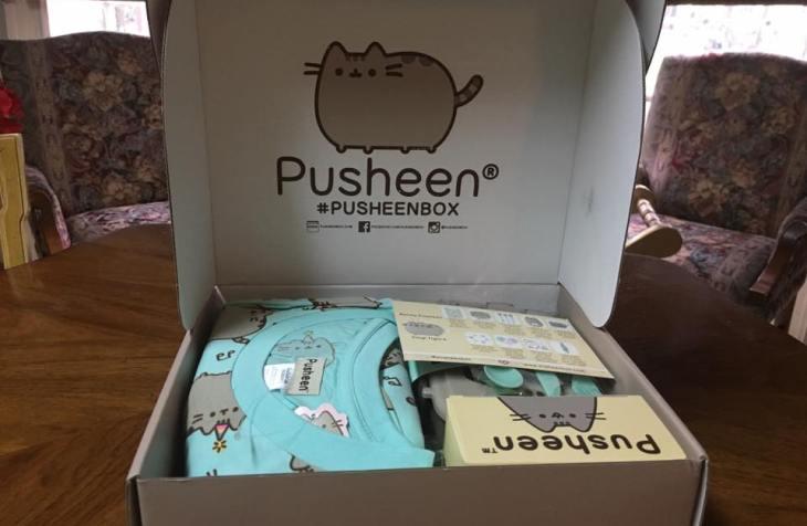 Spring 2017 Pusheen Subscription Box