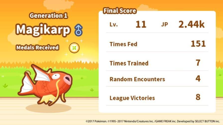 Magikarp Jump Game Review