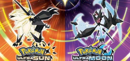 Pokemon Ultra Sun and Pokemon Ultra Moon