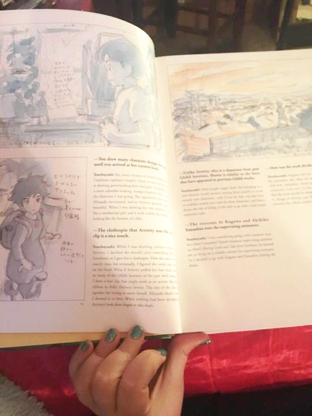 Studio Ghibli The Art of The Secret World of Arietty Artbook