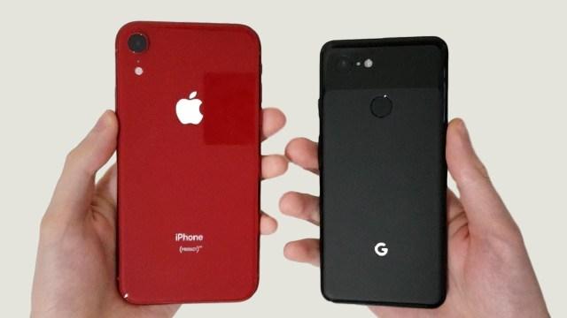 Google Pixel 3 vs Iphone XR Camera