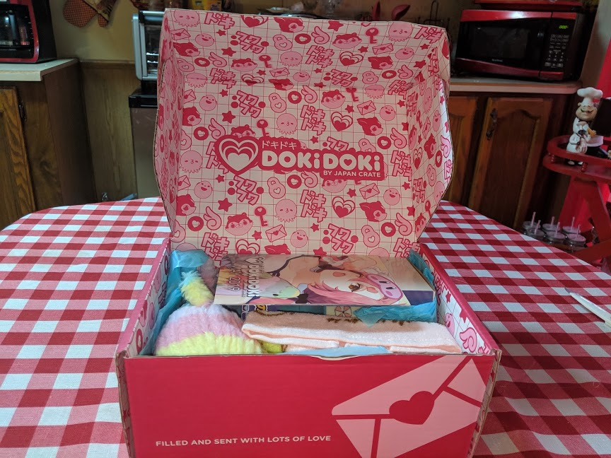 Doki Doki Crate May 2019 Subscription Box Review