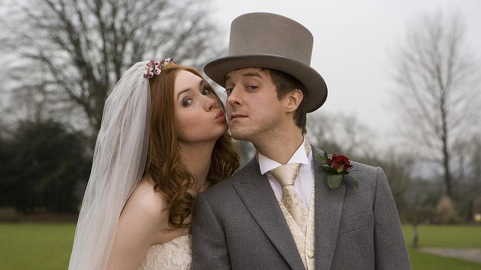 Amy and Rorys Wedding photoalbum  Geek TV