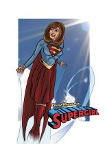 A Client as Supergirl