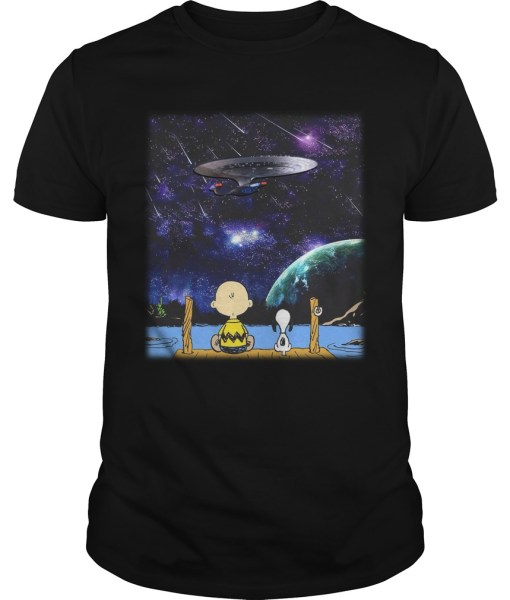 Charlie Brown Snoopy Enterprise Shirt