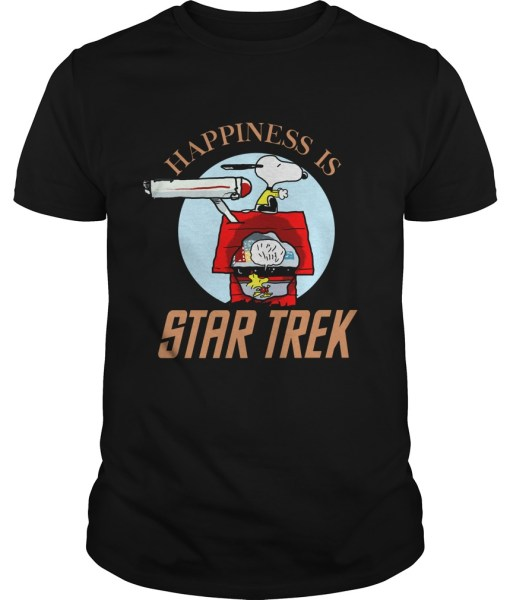 Happiness Is Star Trek Snoopy Shirt