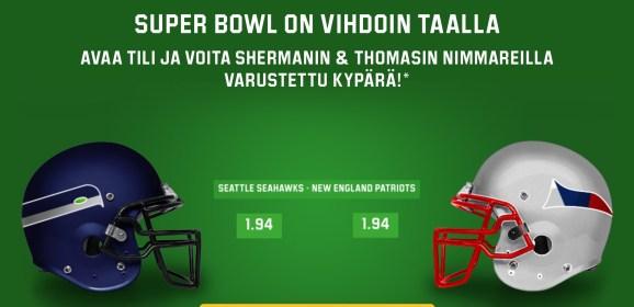 Voita aito NFL-kypärä nimmareilla – PÄÄTTYY 2.2