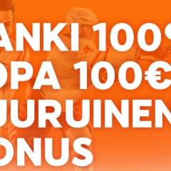 888sport toi Suomeen 100% bonuksen TÄNÄÄN!