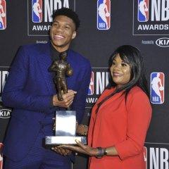 Harvinaista herkkua NBA:n palkintogaalassa – peräti kolmelle pelaajapalkinnolle eurooppalainen voittaja