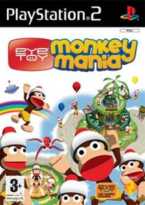 EyeToy Monkey Mania Coverart