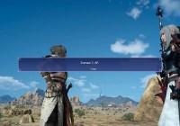 Ya está disponible la nueva actualización de 'Final Fantasy XV' así como el benchmark para PC