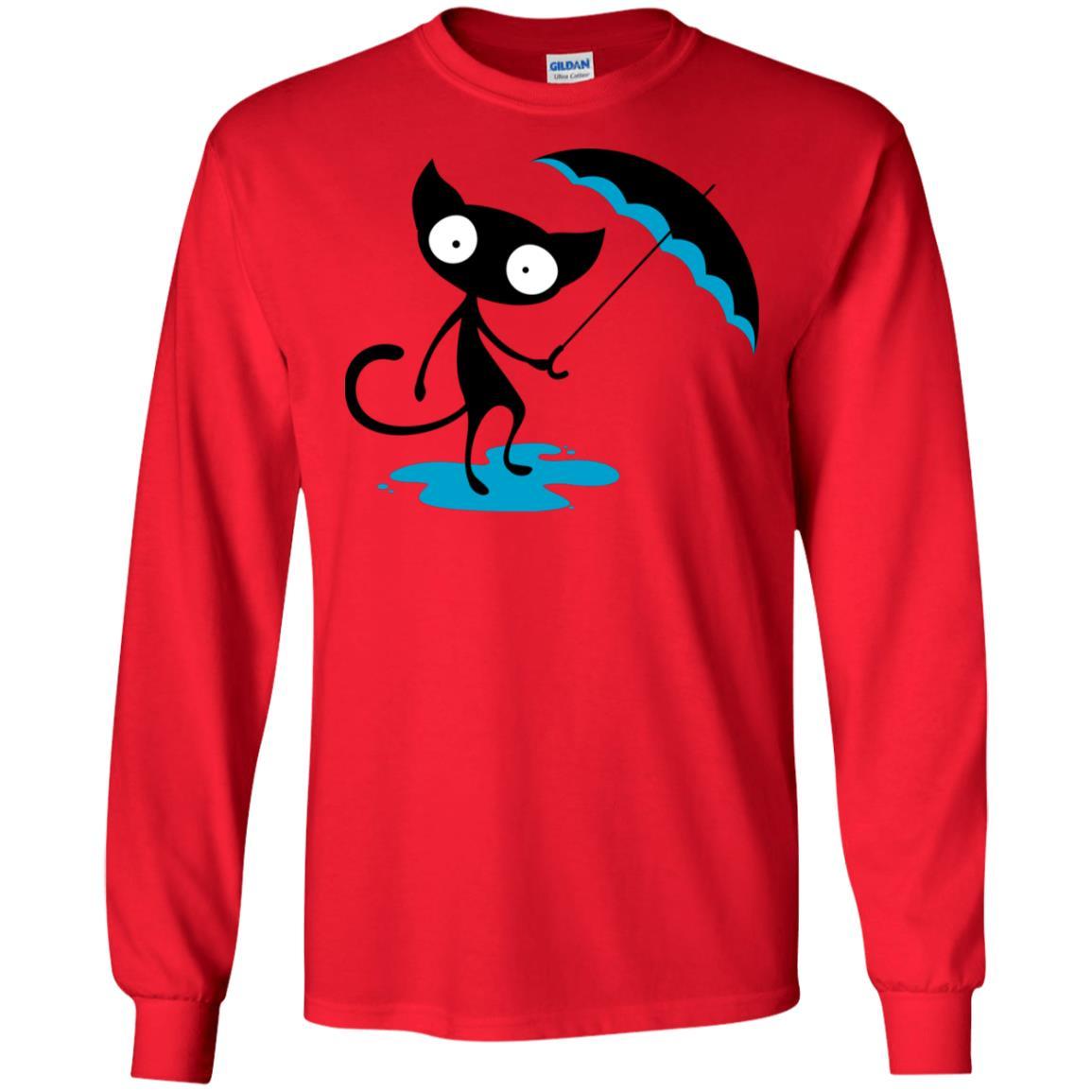Wet Cat Gildan LS Ultra Cotton T-Shirt