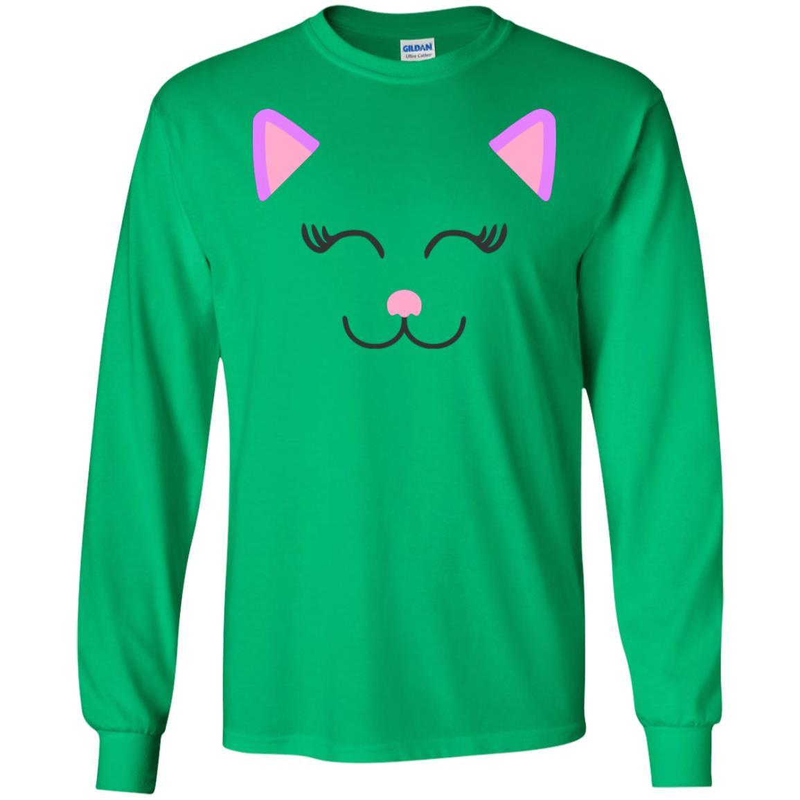 Cat Gildan LS Ultra Cotton T-Shirt
