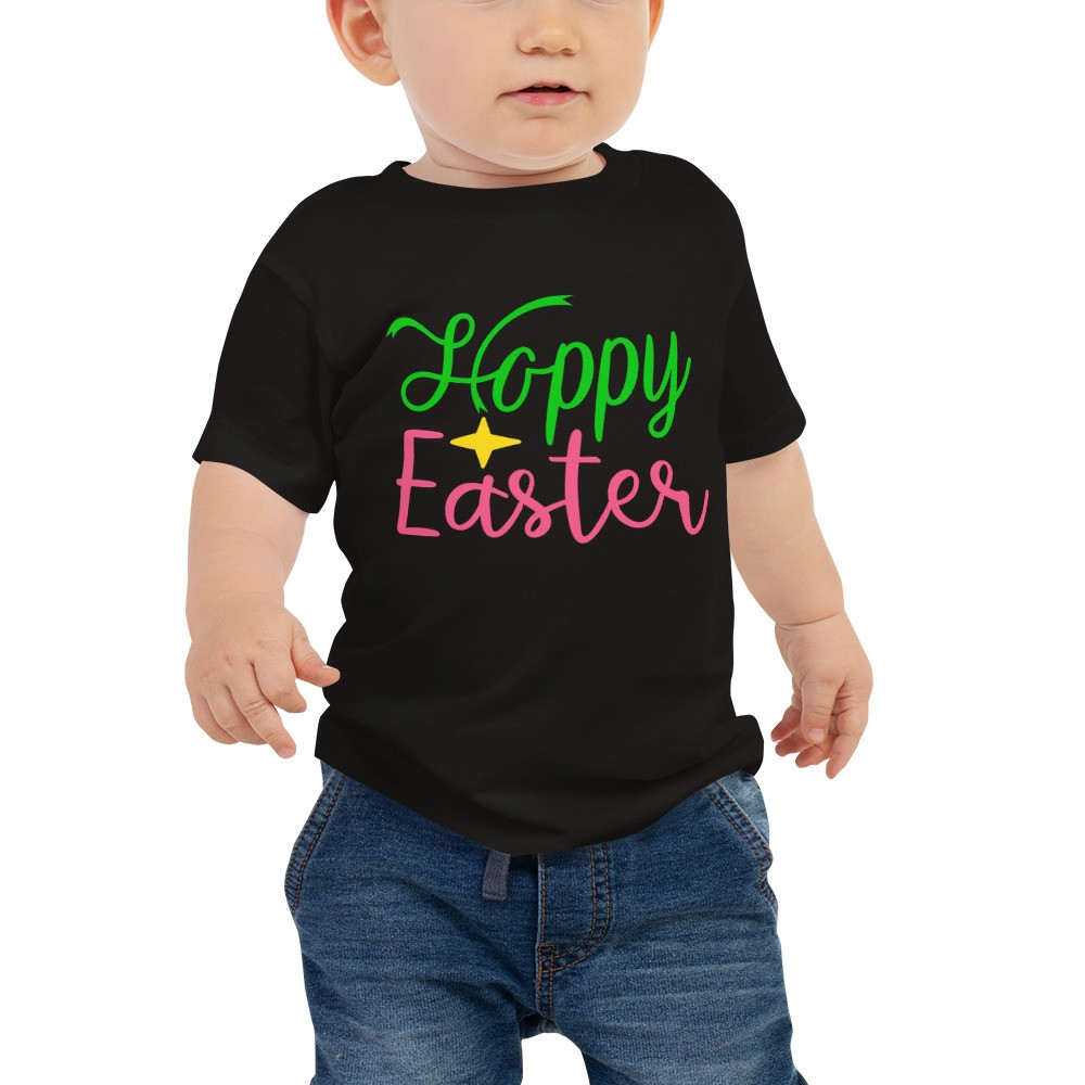 Easter - Happy Easter Baby Jersey Short Sleeve Tee