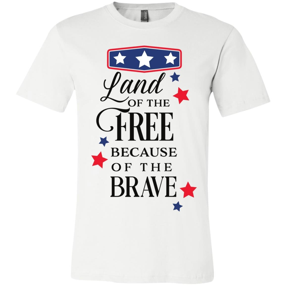 Land Of The Free Unisex Jersey SS T-Shirt