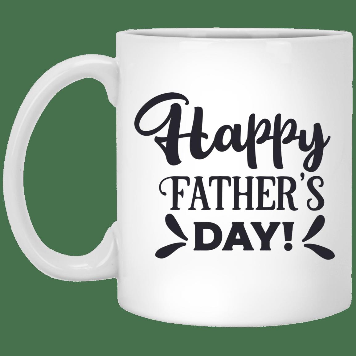 Happy Father's Day White Mug 11 oz.
