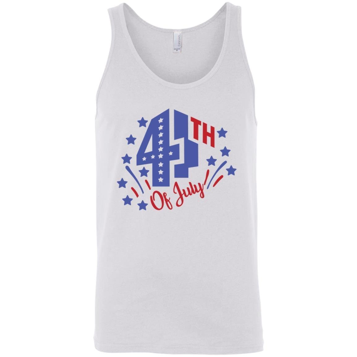 4th Of July Unisex Tank Top