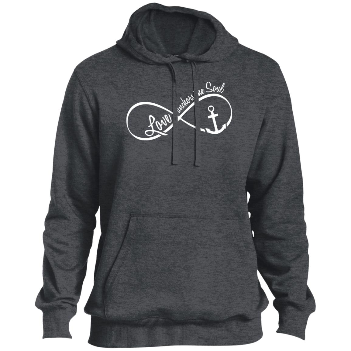 Love Anchors The Soul Pullover Hoodie
