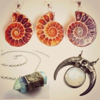 Gemstone Jewellery for Witches and Goths