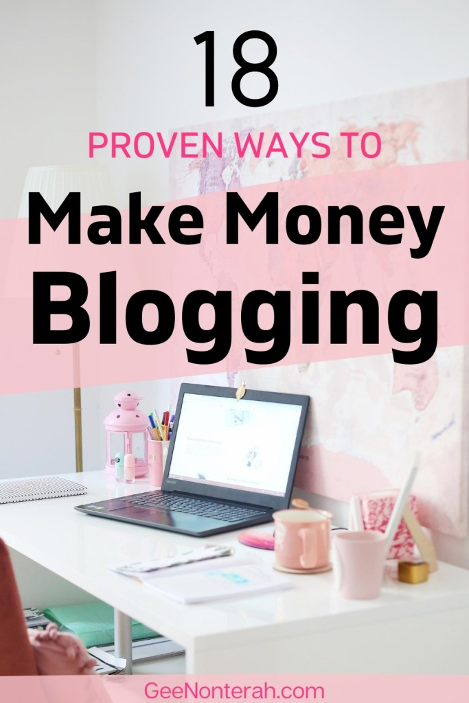 how to get paid as a blogger
