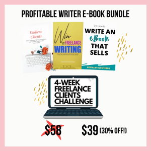 The Profitable Writer Bundle by Gee Nonterah
