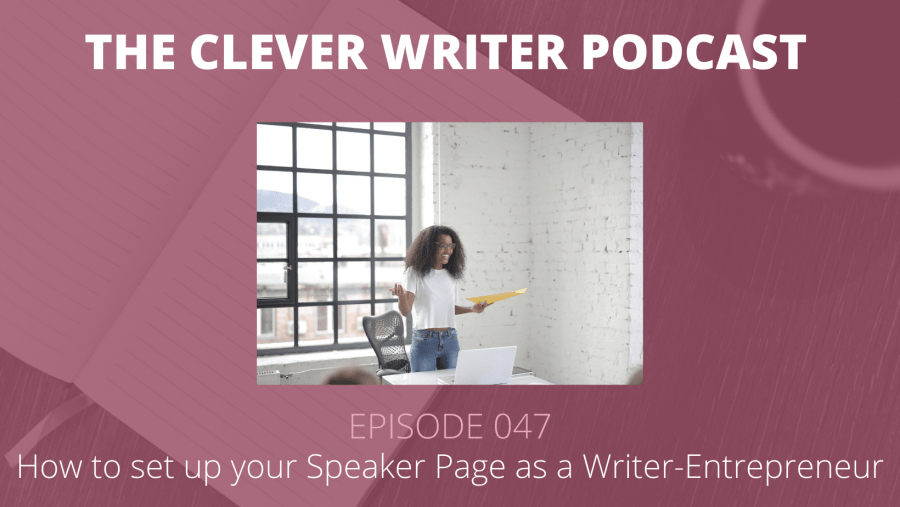 047: How to add public speaking to your creative career
