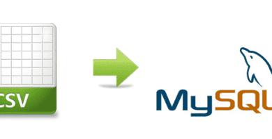 Convertir Excel a MySQL