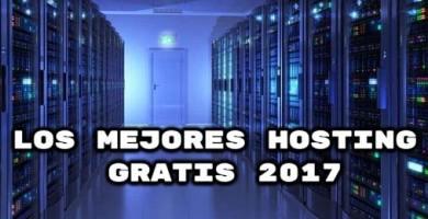 Los mejores hosting gratis 2017