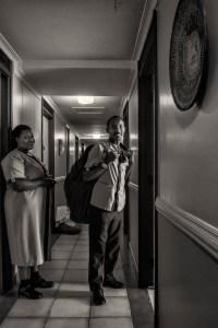 hotelpersoneel, kamermeisjes, kibera