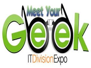 geek logo by Adrienne