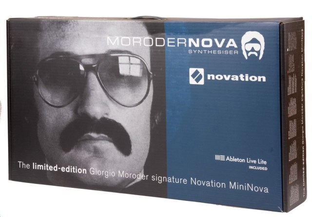The MoroderNova's original packaging