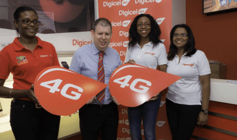 Digicel Guyana's 4G launched as Bermuda and Jamaica may still get 4G LTE (1)