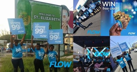 Geezam - How Flow Jamaica celebrated 1 million customers with a 99 cents FAM Plan - 21-05-2016 LHDEER