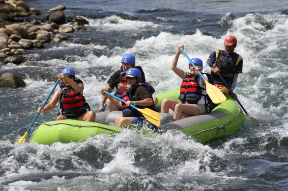 White water rafting in Costa Rica!