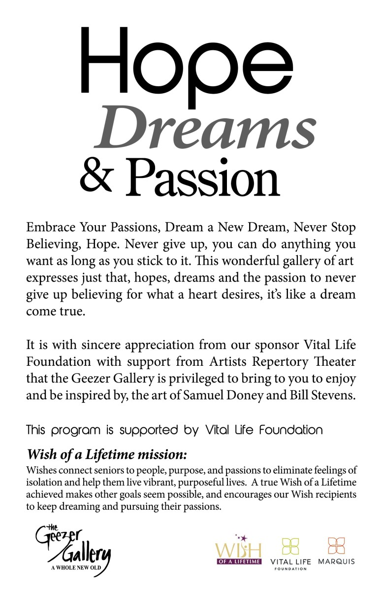 Hope Dreams and Passion