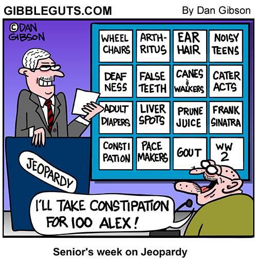 Senior Jeopardy by Gibbleguts