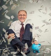 Senior making money