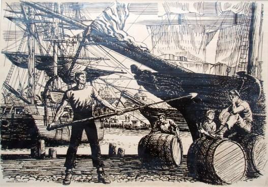 1 old ship scene