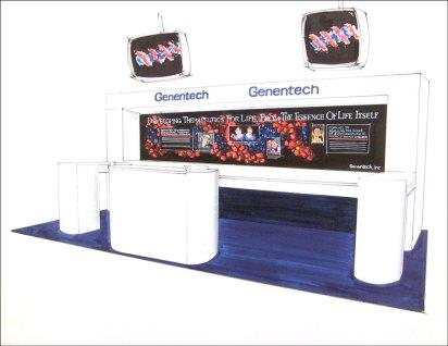 Genetech Show Display